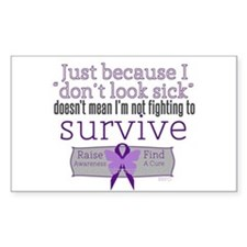 Fight to Survive Lupus Decal