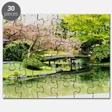 Cherry Blossom Bridge Puzzle