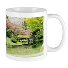 Cherry Blossom Bridge Mugs