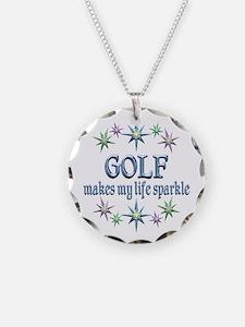 Golf Sparkles Necklace