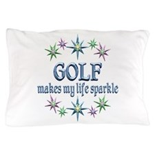 Golf Sparkles Pillow Case