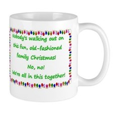 National Lampoons Christmas Vacation quote Mugs