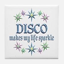 Disco Sparkles Tile Coaster