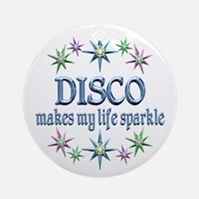 Disco Sparkles Ornament (Round)