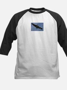 Great Blue Heron In Flight Baseball Jersey