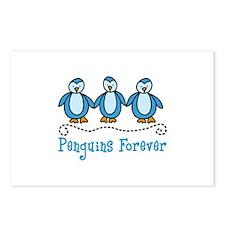 Penguins Forever Postcards (Package of 8)