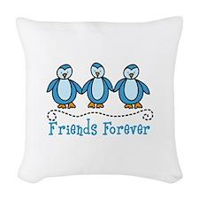 Friends Forever Woven Throw Pillow