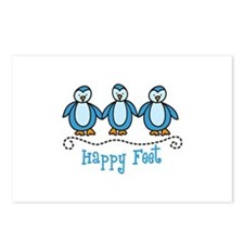 HAPPY FEET Postcards (Package of 8)