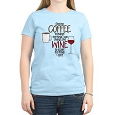 Give me Coffee to change the things I can T-Shirt
