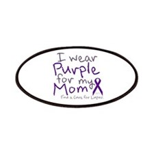 Purple for My Mom Patches