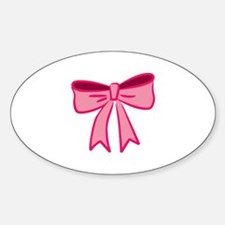 Pink Bow Decal