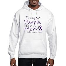 Purple for My Mom Hoodie