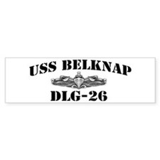 USS BELKNAP Bumper Sticker