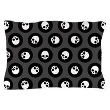 Skull Polkadots Pillow Case
