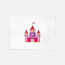 Princess Castle 5'x7'Area Rug