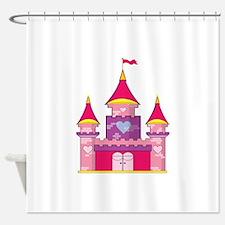 Princess Castle Shower Curtain