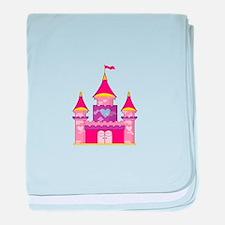 Princess Castle baby blanket