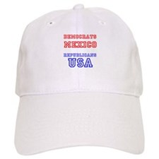 Democrats Mexico Republicans USA Baseball Baseball Cap