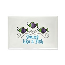 Swims Like A Fish Magnets