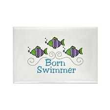 Born Swimmer Magnets