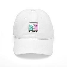 DIG THE PIG 1 Baseball Cap