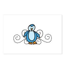 Penguin Postcards (Package of 8)