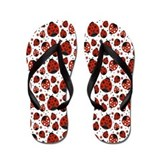 Ladybug flip flops Flip Flops