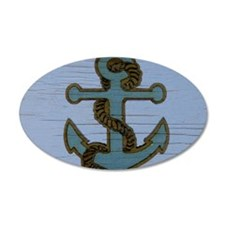 nautical deck vintage anchor Decal Wall Sticker