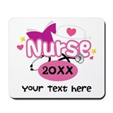 Personalized nurse Classic Mousepad