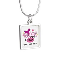 Personalized Nurse Graduation Necklaces