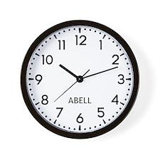 Abell Newsroom Wall Clock
