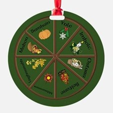 Wheel Of The Year Ornament