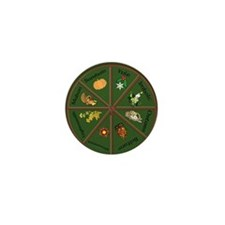 Wheel Of The Year Mini Button (10 Pack)