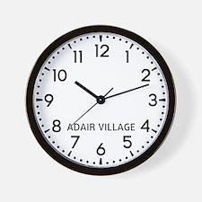 Adair Village Newsroom Wall Clock