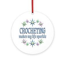Crocheting Sparkles Ornament (Round)
