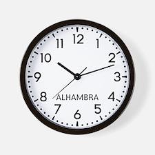 Alhambra Newsroom Wall Clock