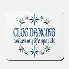 Clog Dancing Sparkles Mousepad