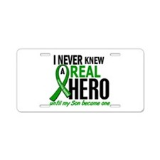 Cerebral Palsy Real Hero 2 Aluminum License Plate