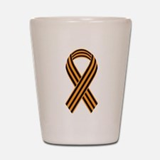 Saint George Ribbon Shot Glass