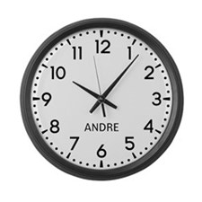 Andre Newsroom Large Wall Clock