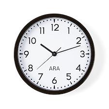 Ara Newsroom Wall Clock