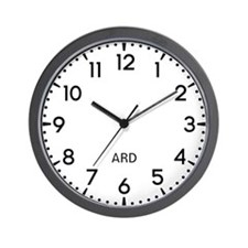 Ard Newsroom Wall Clock