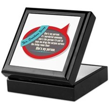 She's My Person Quote Keepsake Box