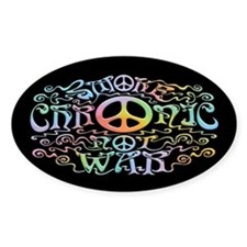 Chronic, Not War Decal