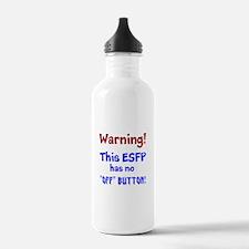 ESFP Warning Water Bottle