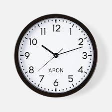 Aron Newsroom Wall Clock