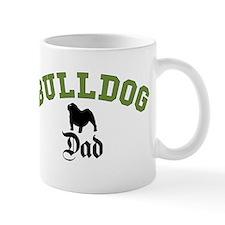 E Bulldog Dad 3 Small Mug