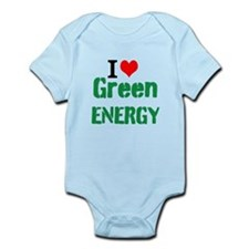 I Love Green Energy Body Suit