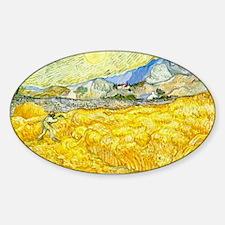 van gogh wheat Decal