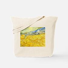 van gogh wheat Tote Bag